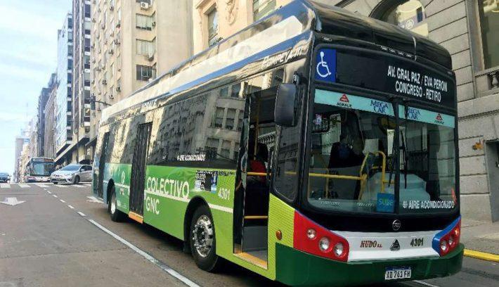 bus a gas