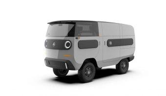 eBussy furgon electrico
