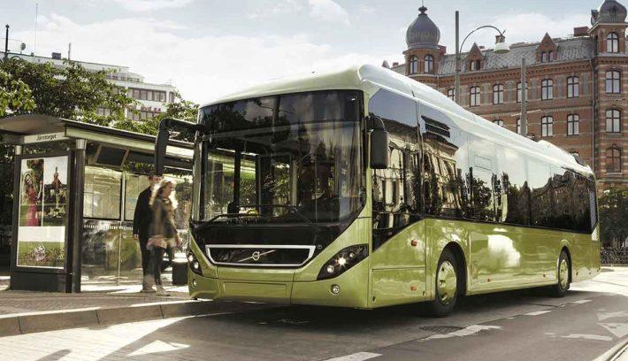 Volvo bus híbrido