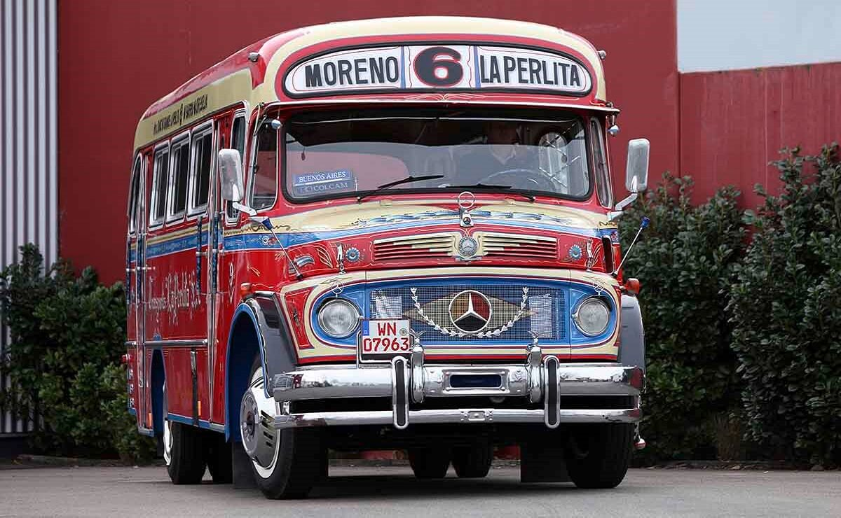 Mercedes-Benz bus 125 años