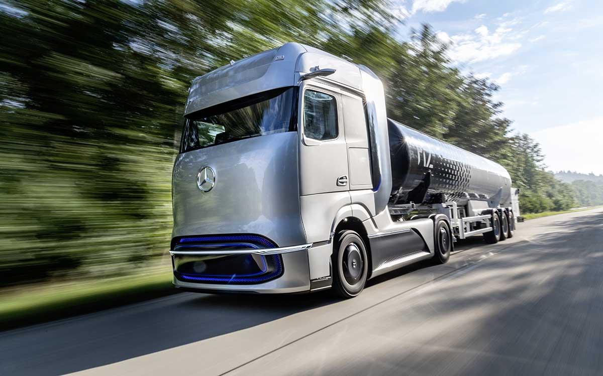 mercedes camion hidrogeno