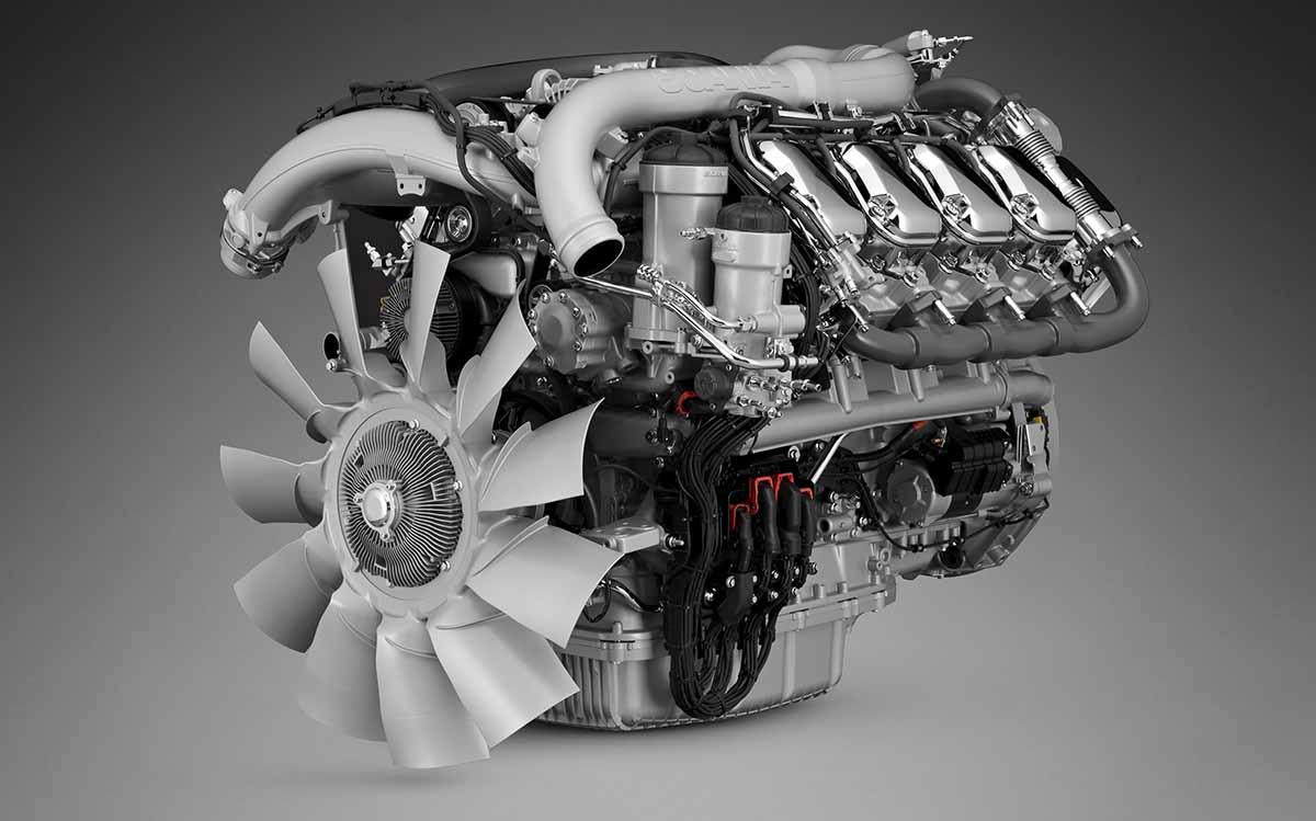 V8 Scania NTG