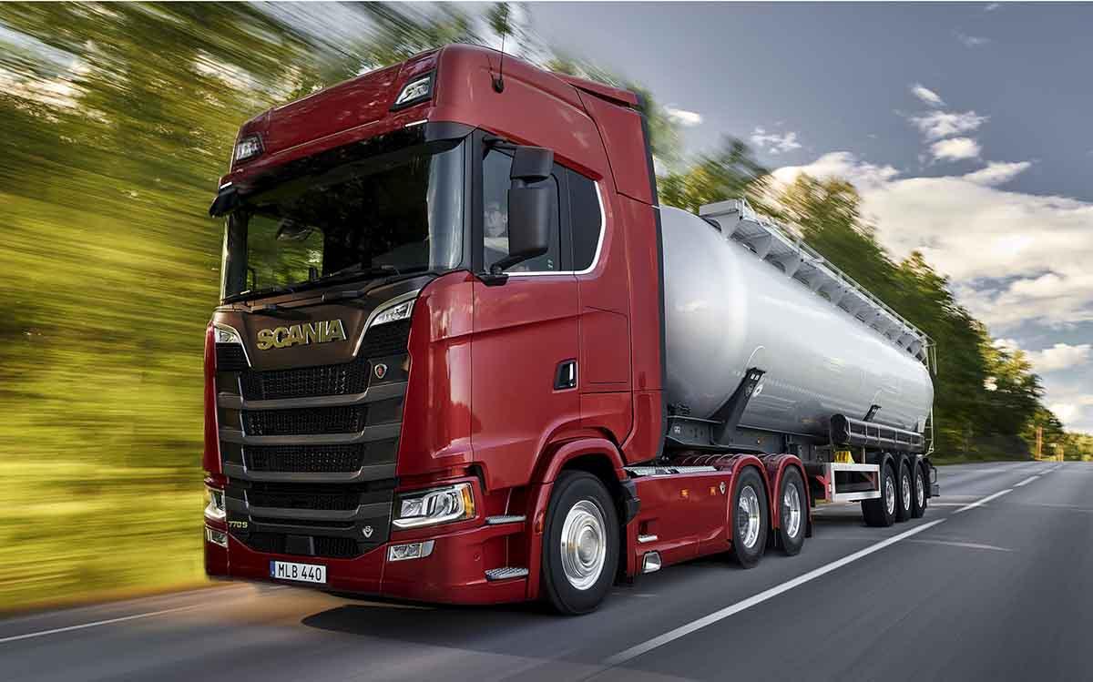 Scania S770 V8