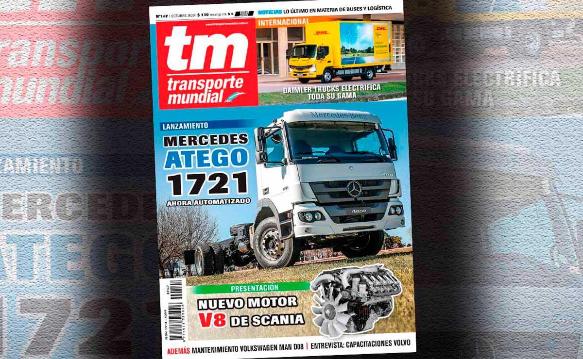Mercedes Atego 1721 TM octubre 2020