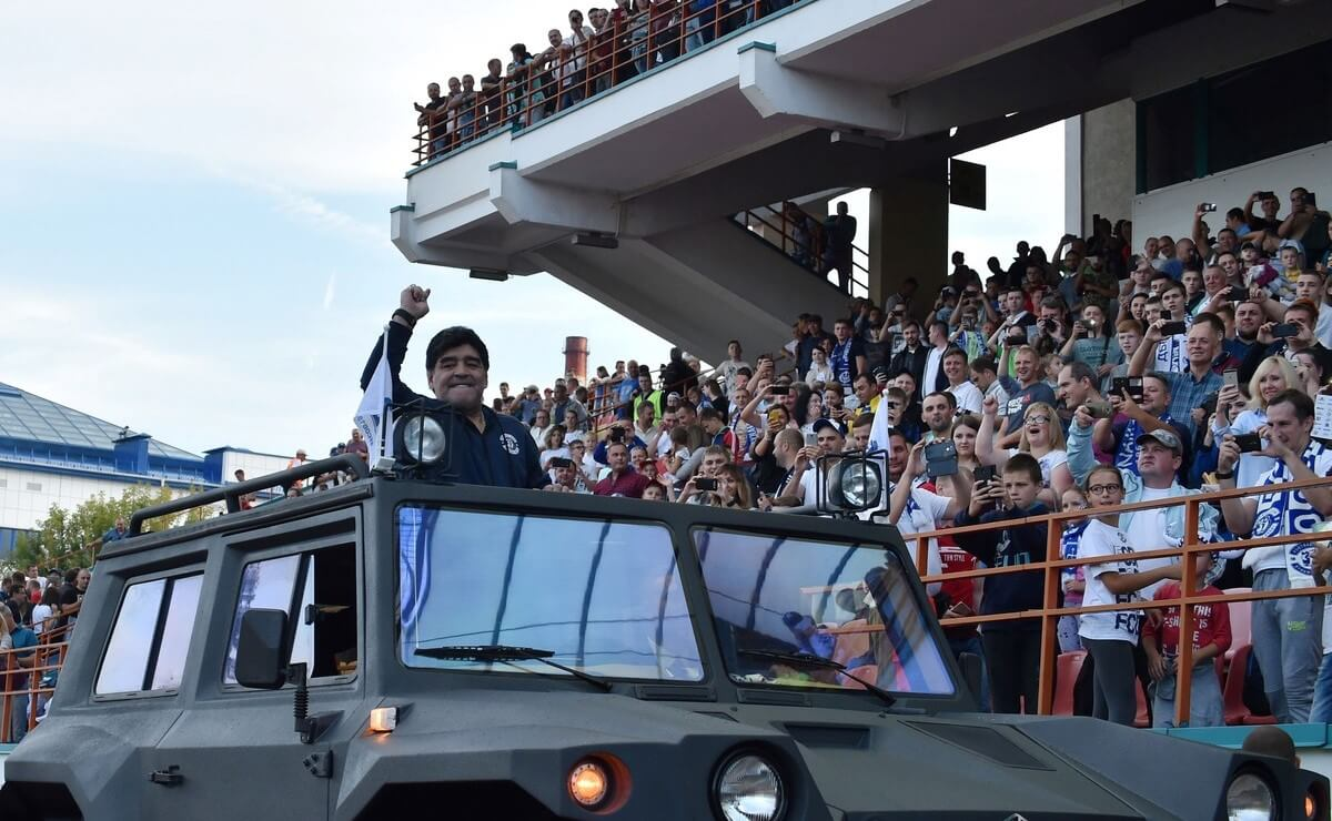 Tanque Diego Maradona