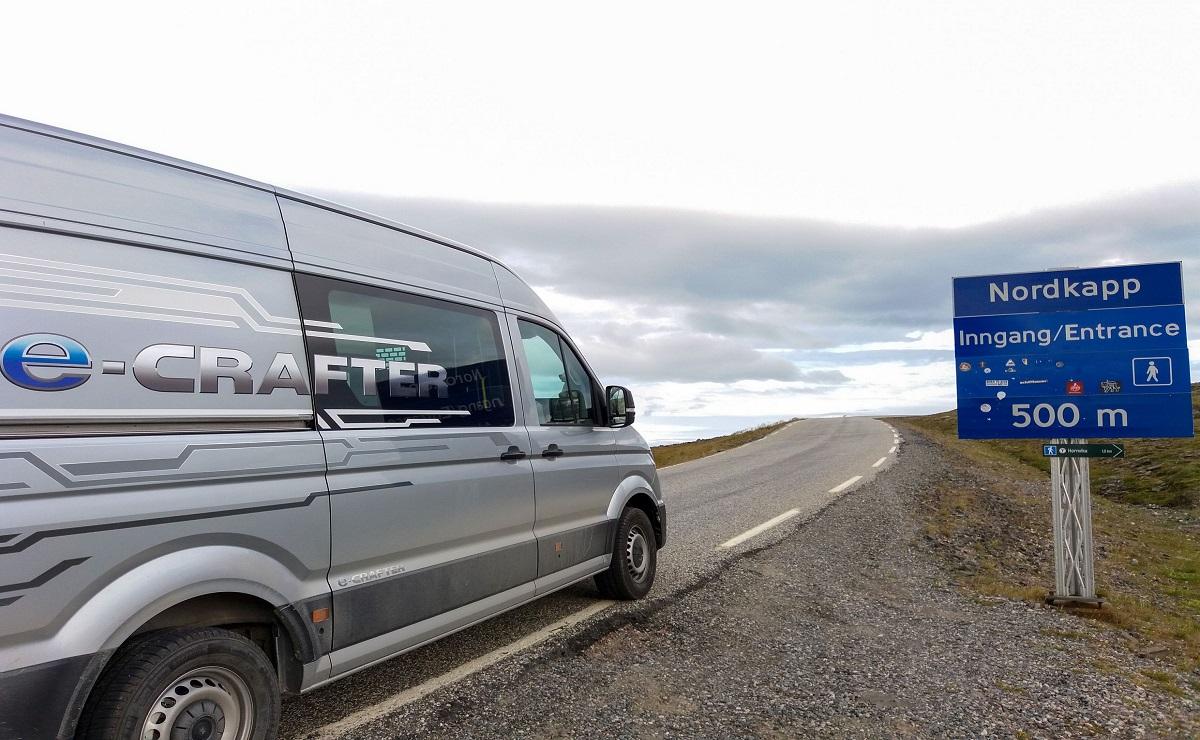 Volkswagen e-Crafter 7000km