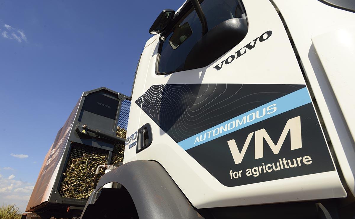 Volvo VM autónomo
