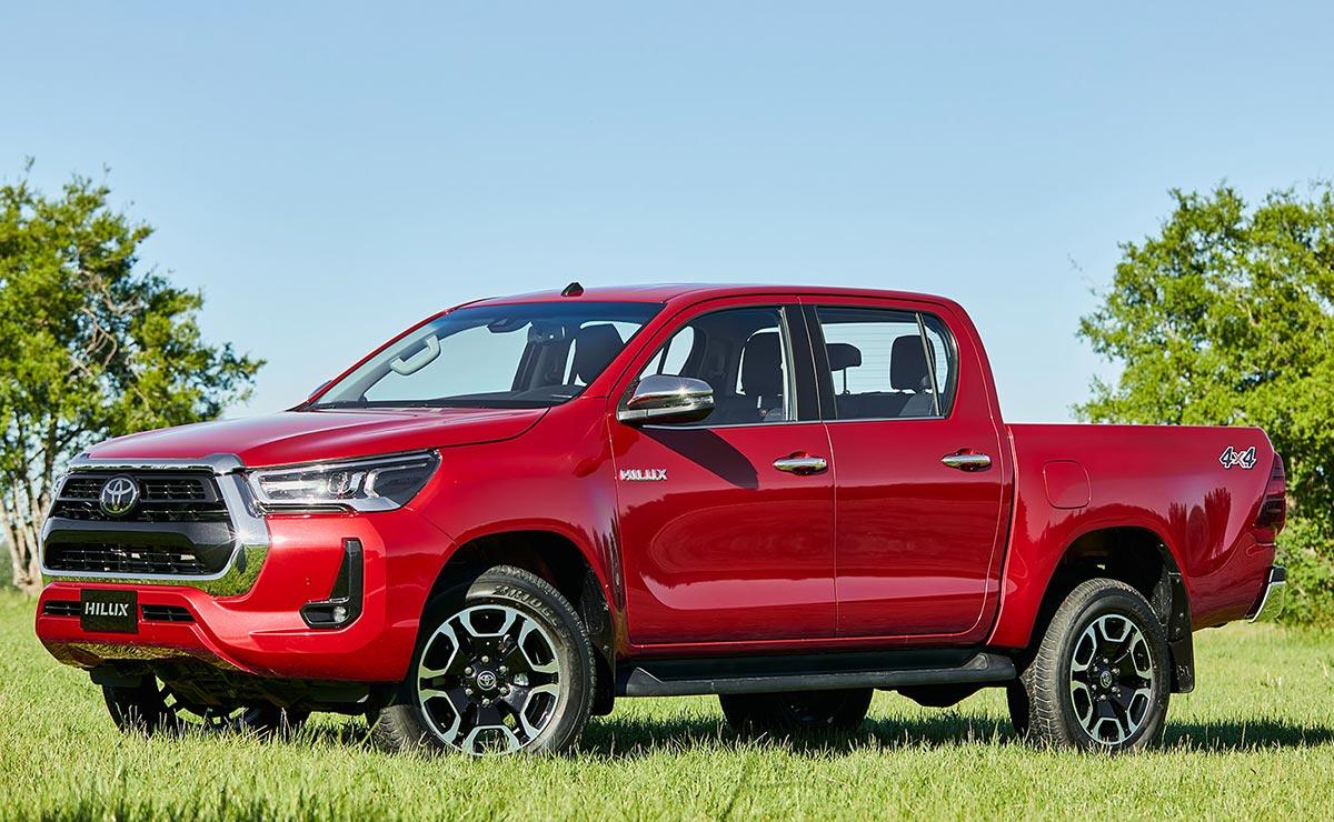 Toyota Hilux 2021 patentamientos