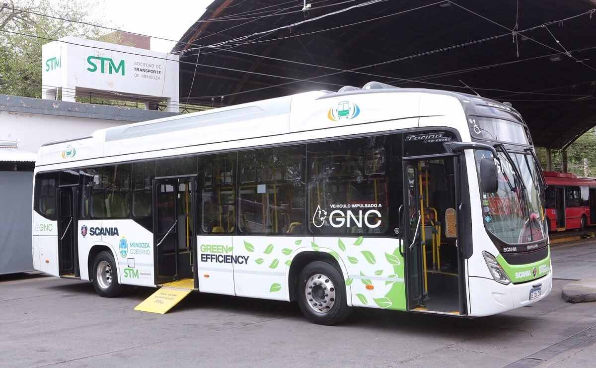 Bus Scania GNC