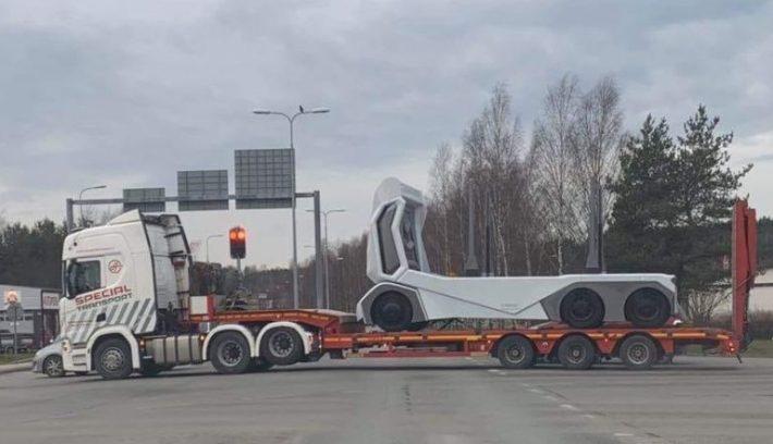 Camión autónomo