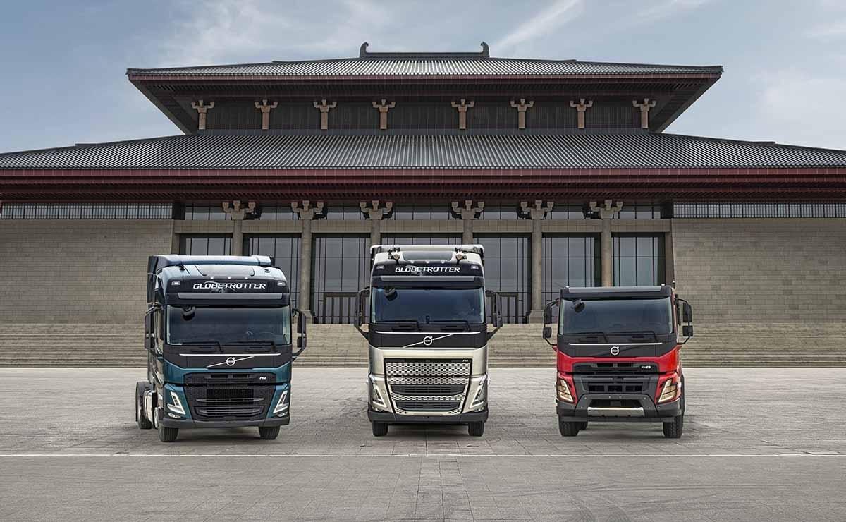 olvo-trucks-china